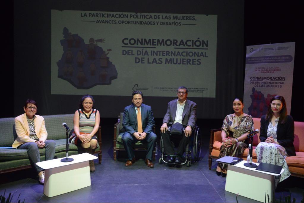 Organiza IECM foro para exponer avances y desafíos de la participación política de las mujeres