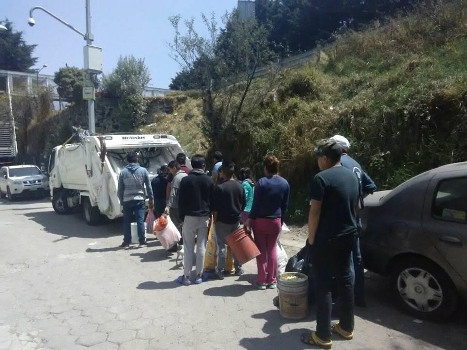 Cuajimalpa a la vanguardia en el manejo de residuos sólidos
