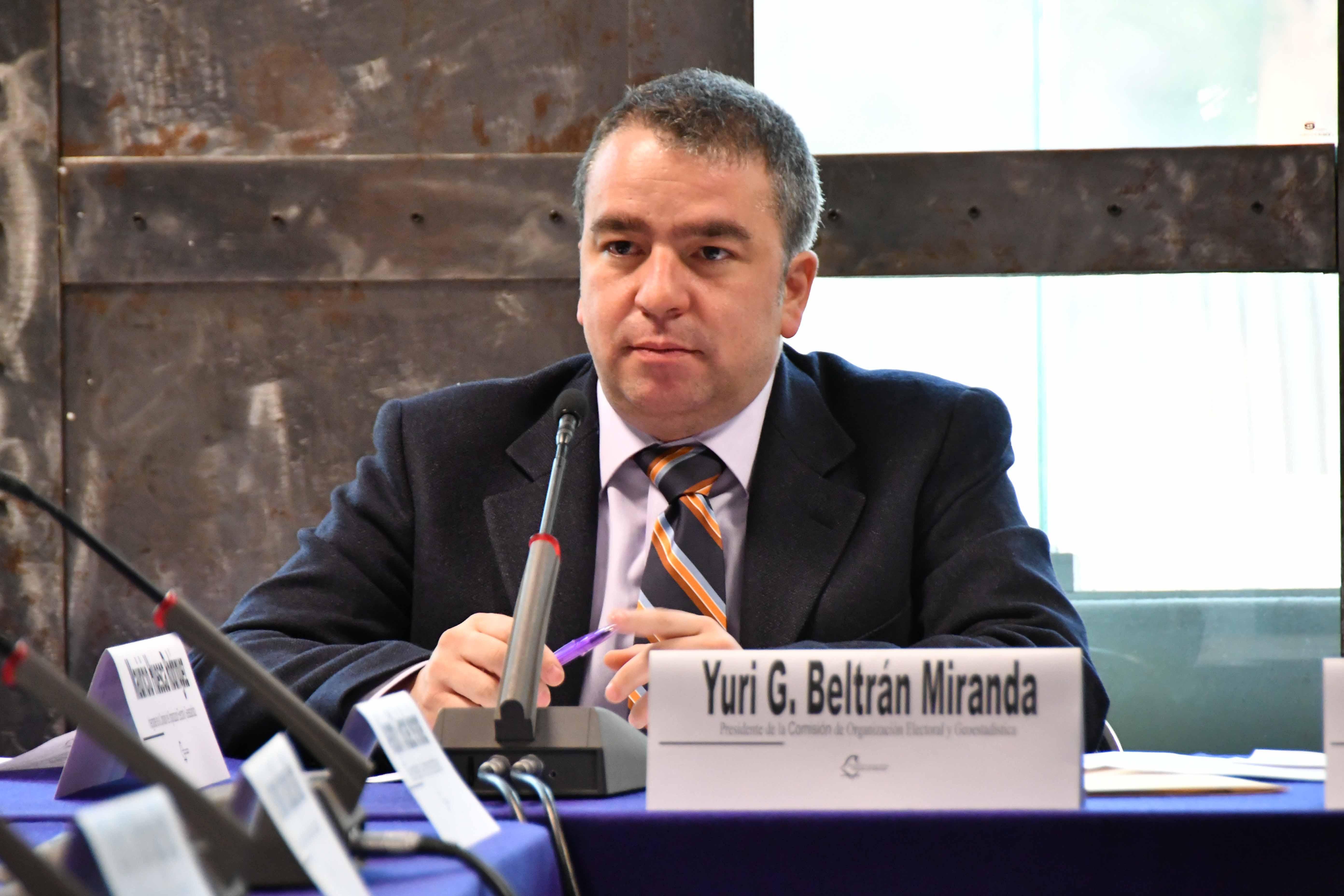 Necesario reforzar lazos con la comunidad migrante:  consejero electoral Yuri Gabriel Beltrán Miranda
