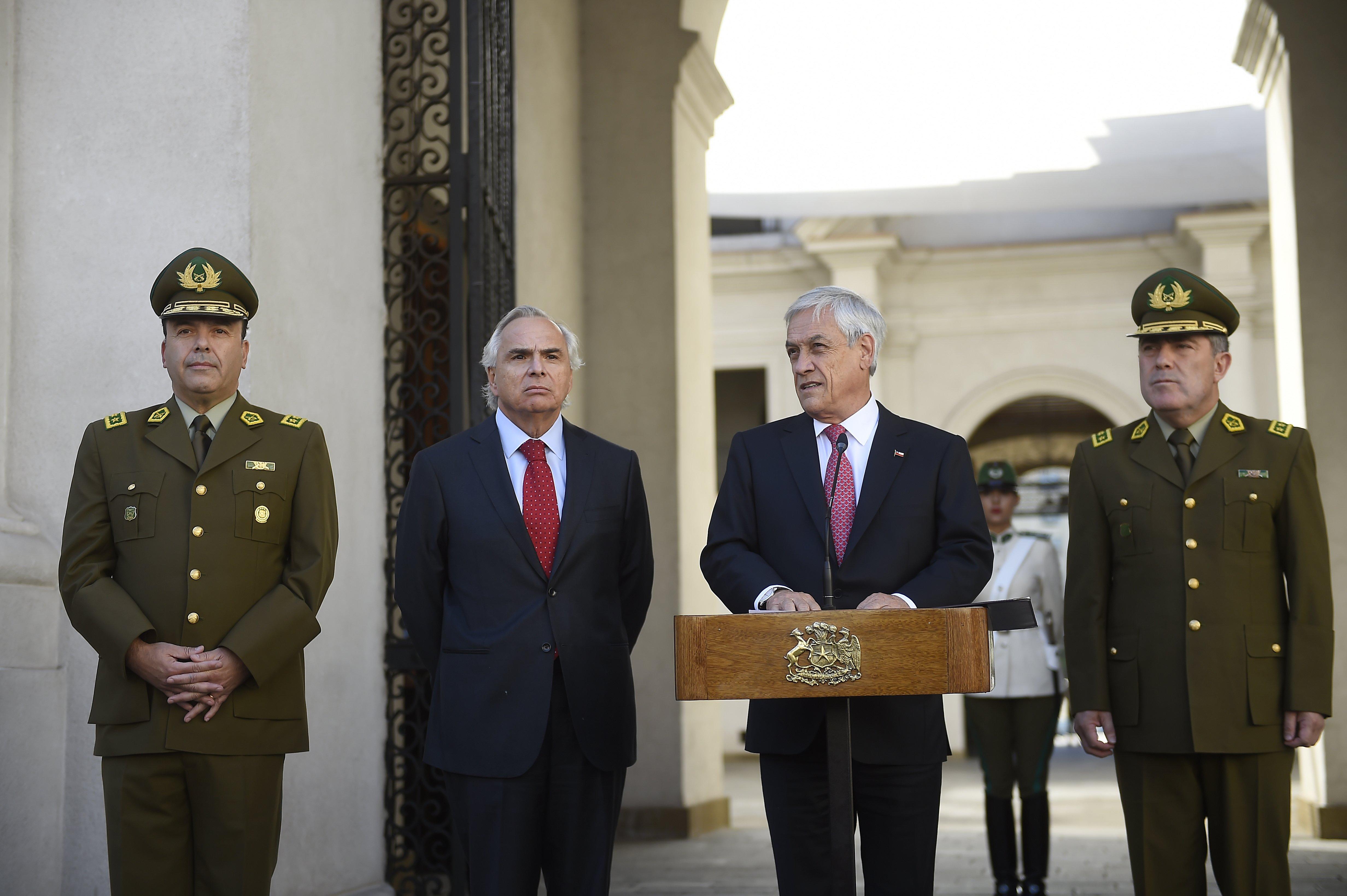 Presidente Piñera nombra a nuevo General Director de Carabineros
