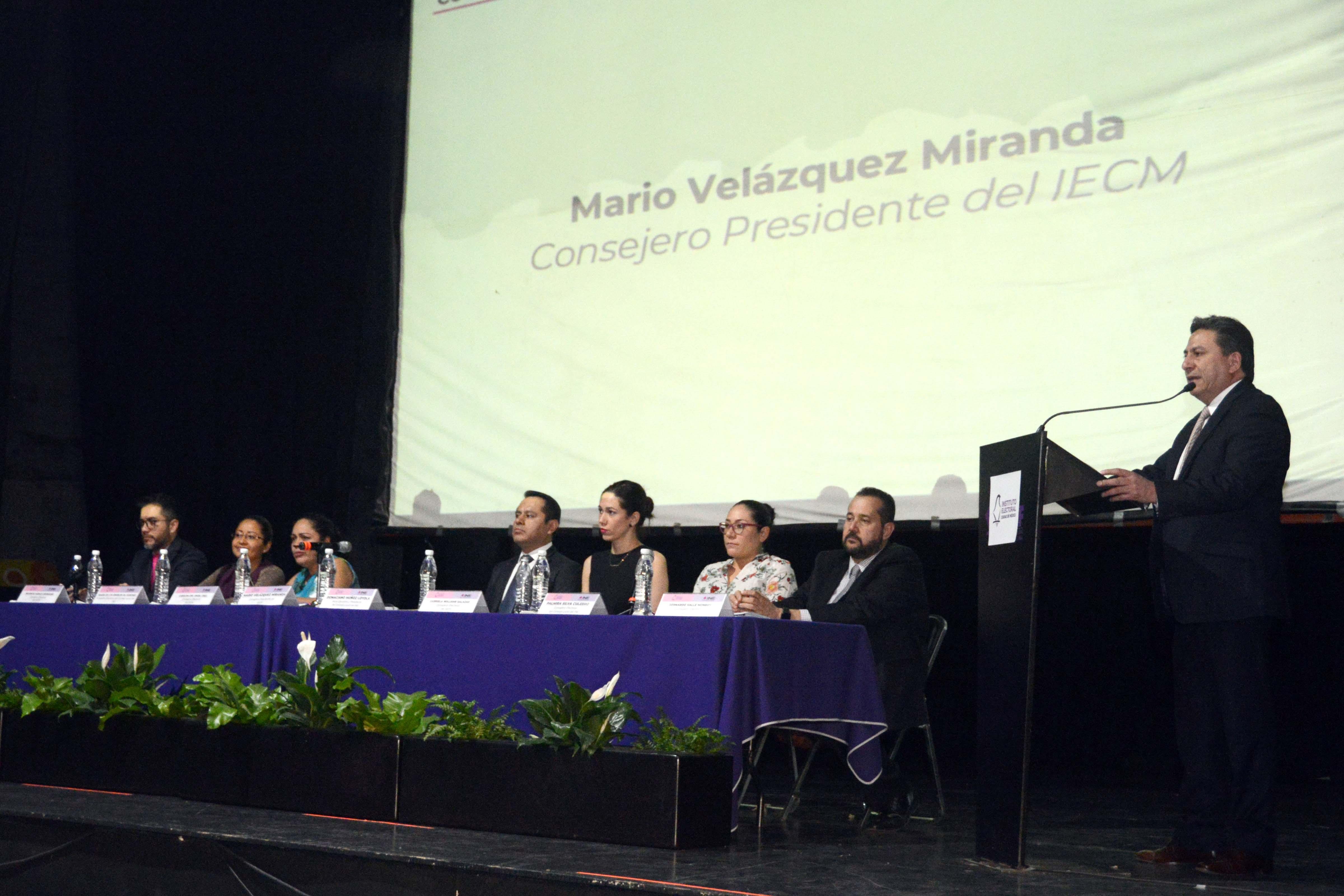 Colaboración INE-IECM, la base para la organización de un proceso electoral exitoso en la CDMX: consejero Mario Velázquez Miranda