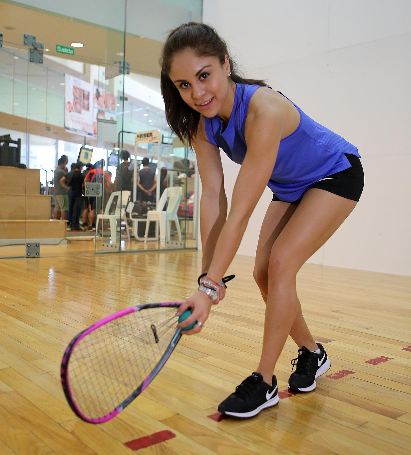 Paola Longoria refrendará su triunfo de Veracruz 2014; se prepara en la CONADE