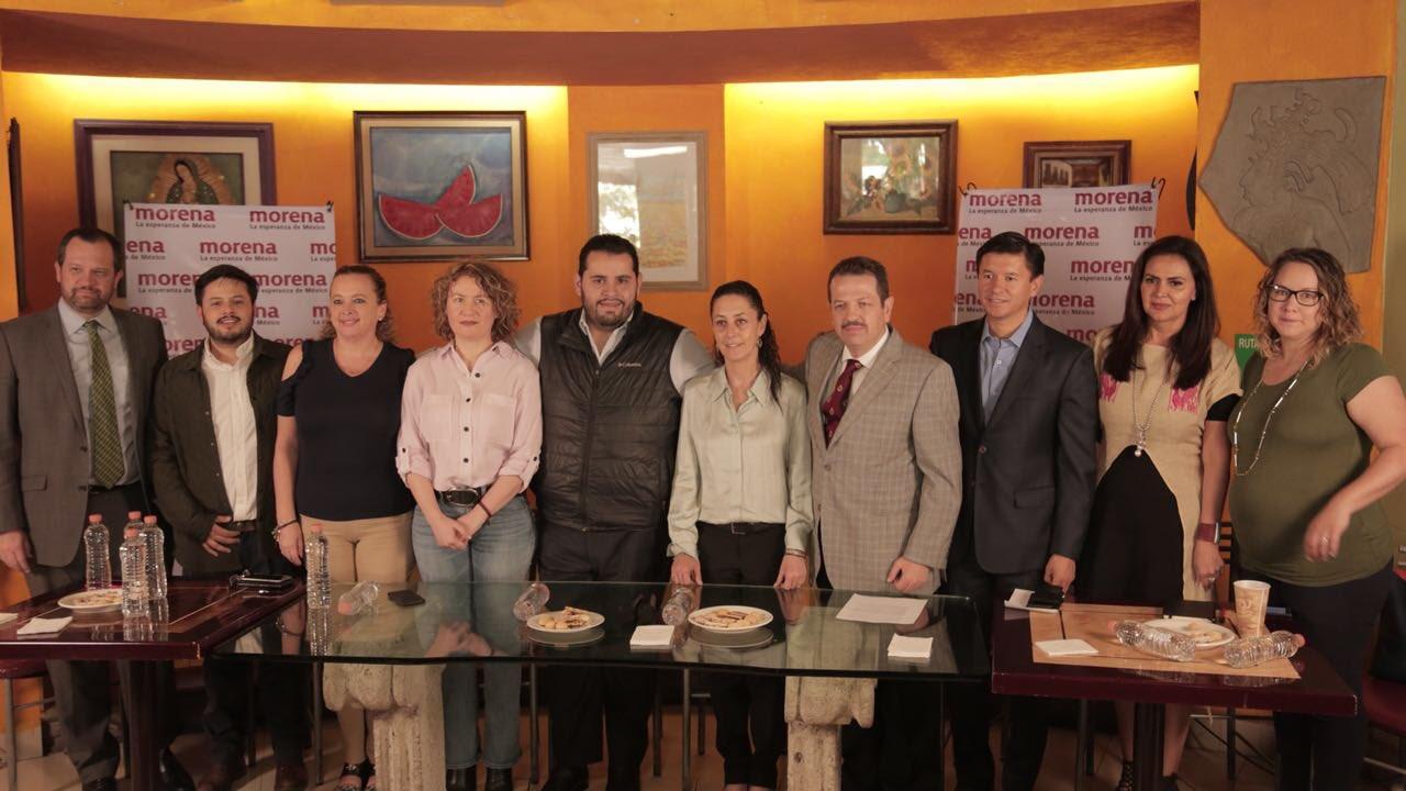 MORENA suma apoyos en la delegación Benito Juárez