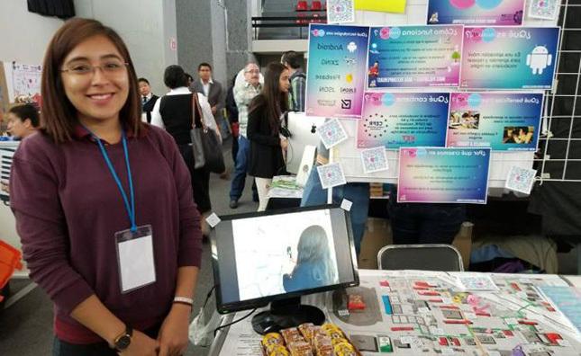 Universitaria gana bronce en concurso de ciencia y tecnología