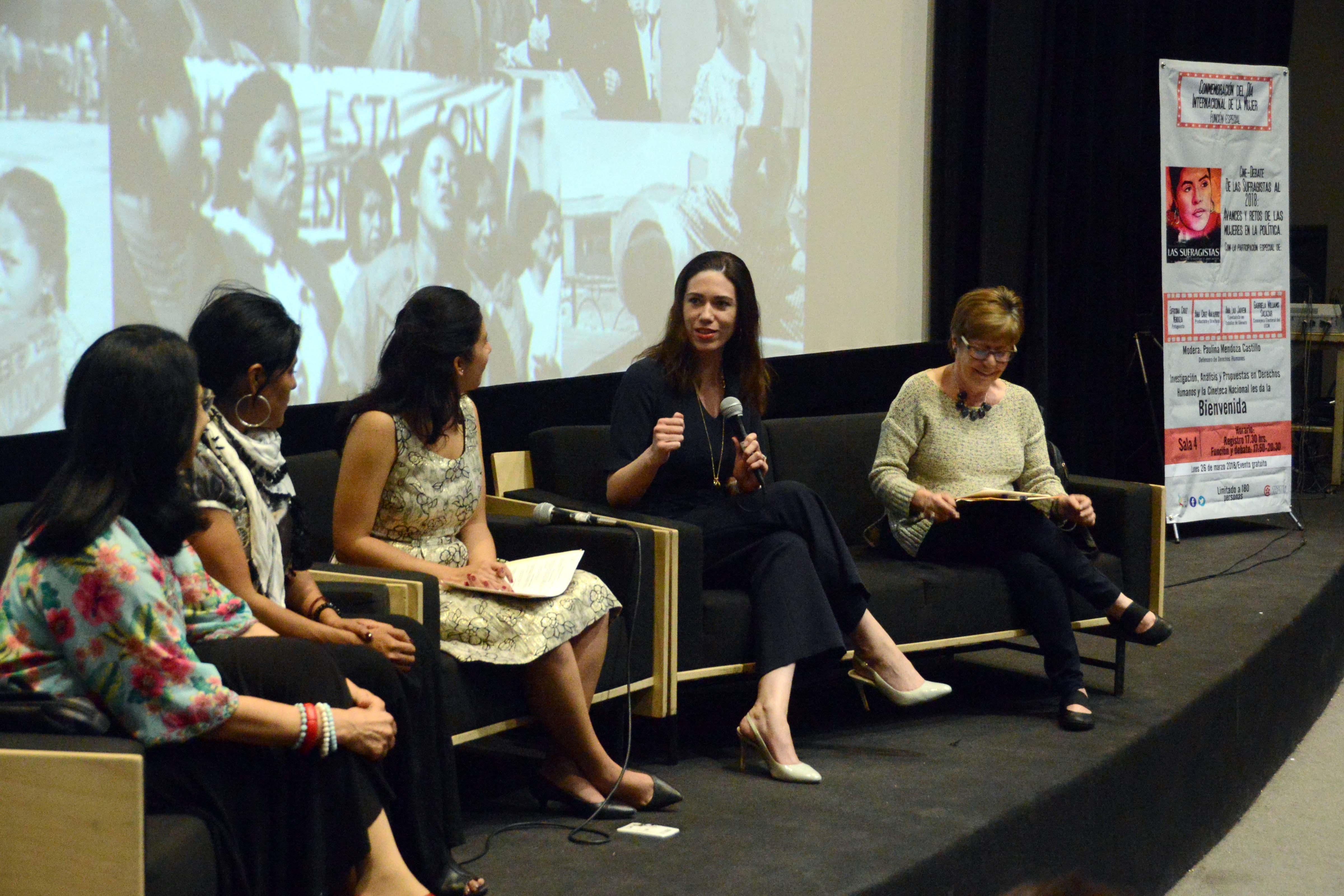 Ejercer el poder con liderazgo transformador, para modificar esquemas sociales y culturales: Gabriela Williams