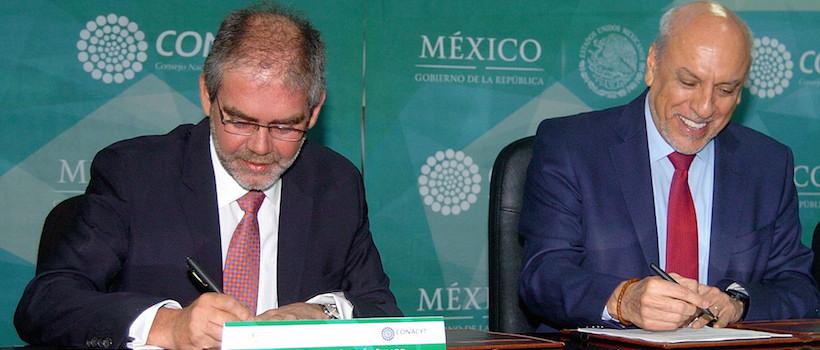 Firman el Conacyt y la SECITI de la CDMX convenio de colaboración