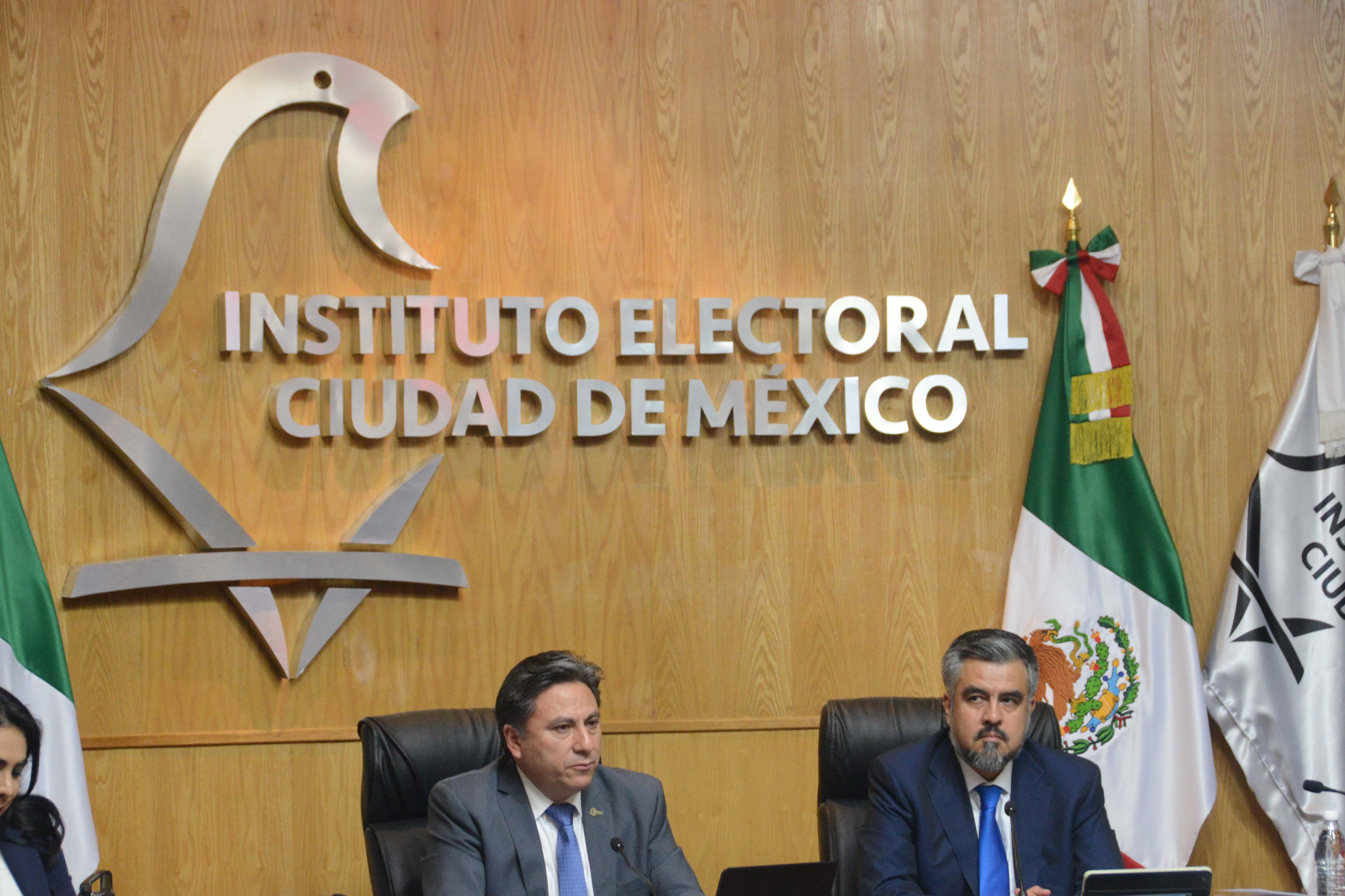 Destaca Consejero Presidente retos y logros de IECM en año previo a elecciones
