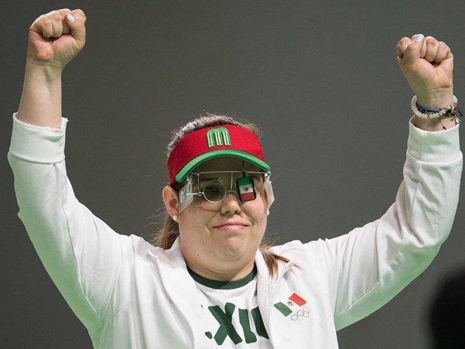 La mexicana, Alejandra Zavala, primer lugar en el ranking mundial de tiro deportivo
