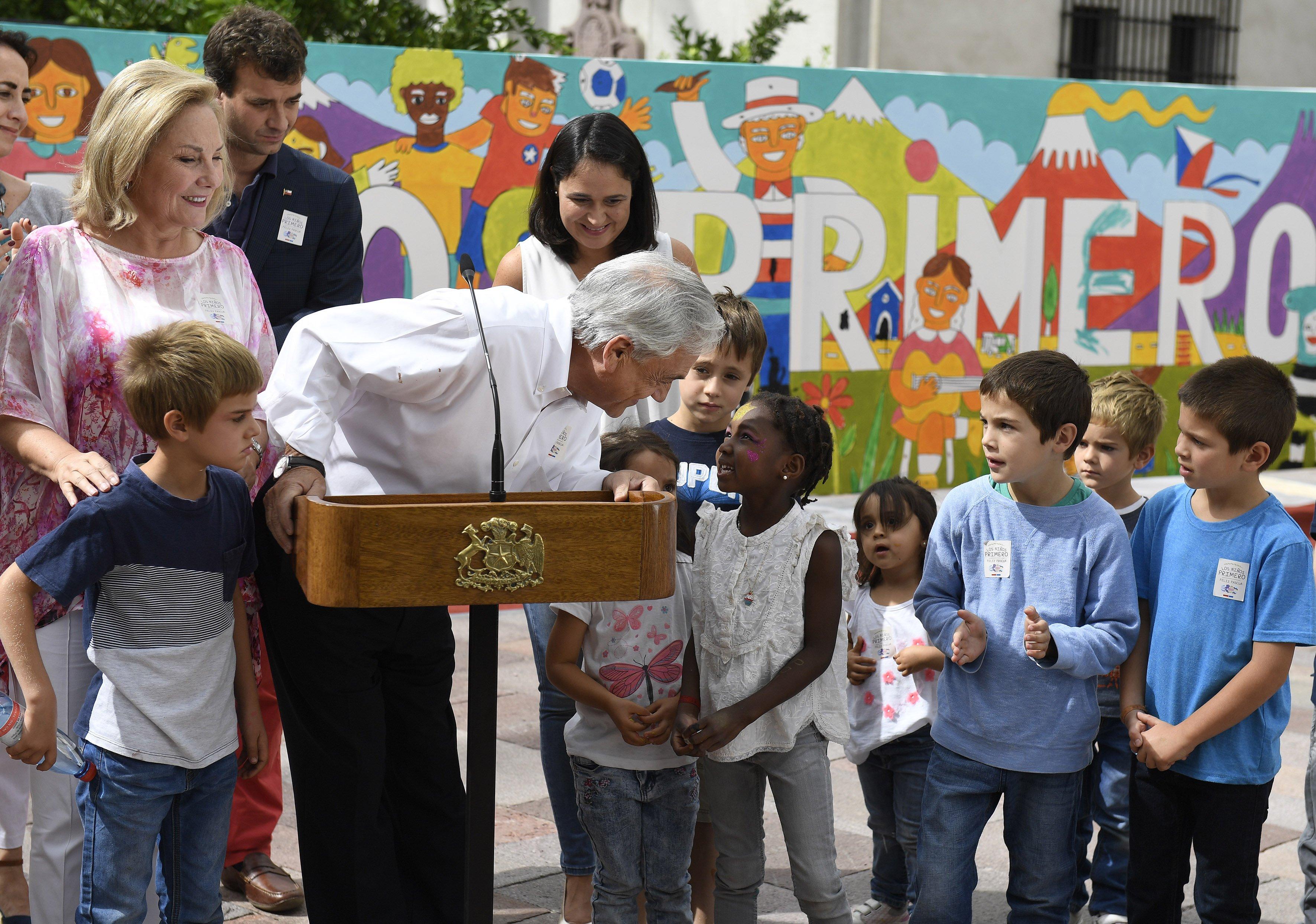 En nuestro Gobierno los niños chilenos van a estar primeros en la fila: Sebastián Piñera