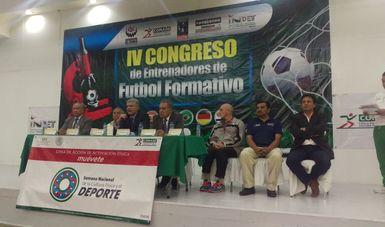 Abre la Semana Nacional de Activación Física a través del Congreso de Futbol Formativo para los Trabajadores