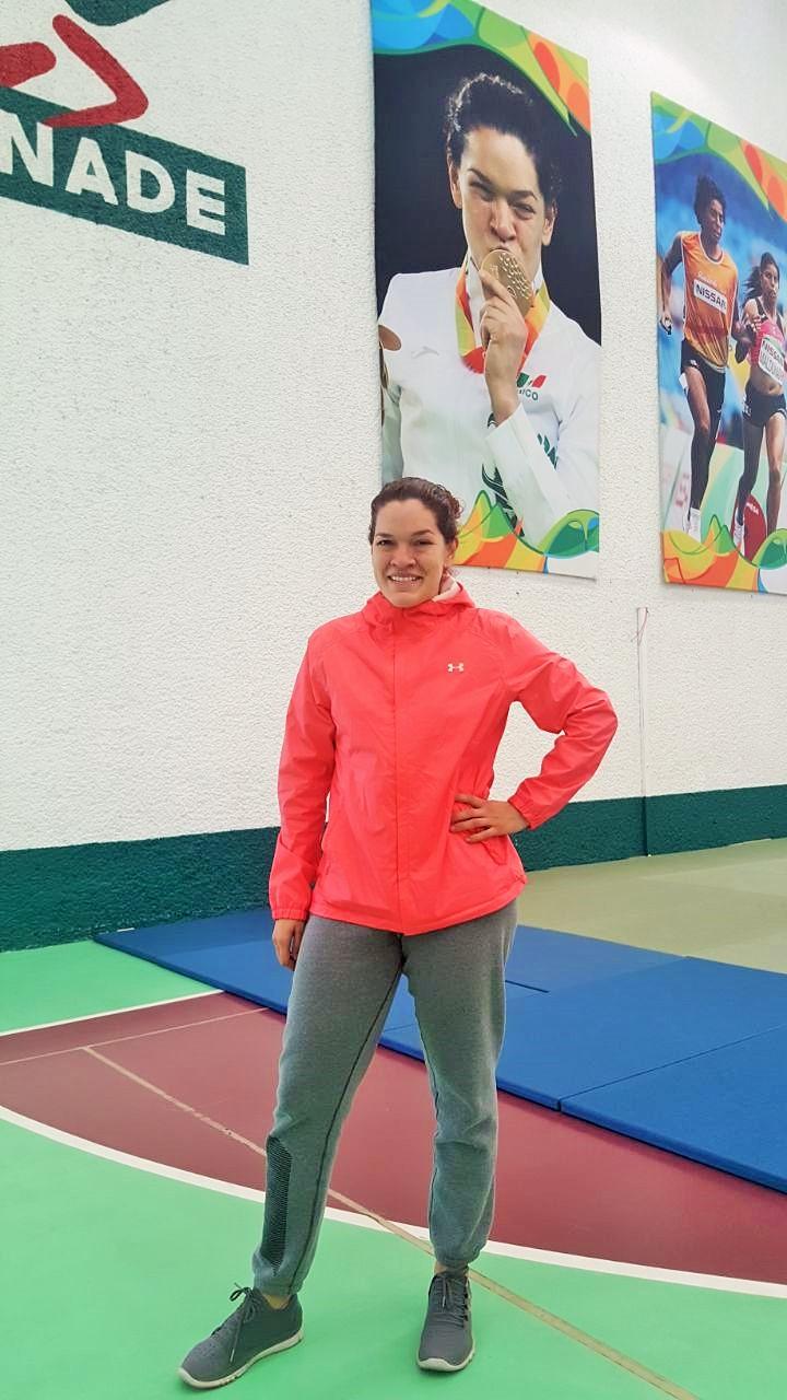 Lenia Ruvalcaba abrirá competencias en Panamericano de Calgary, Canadá