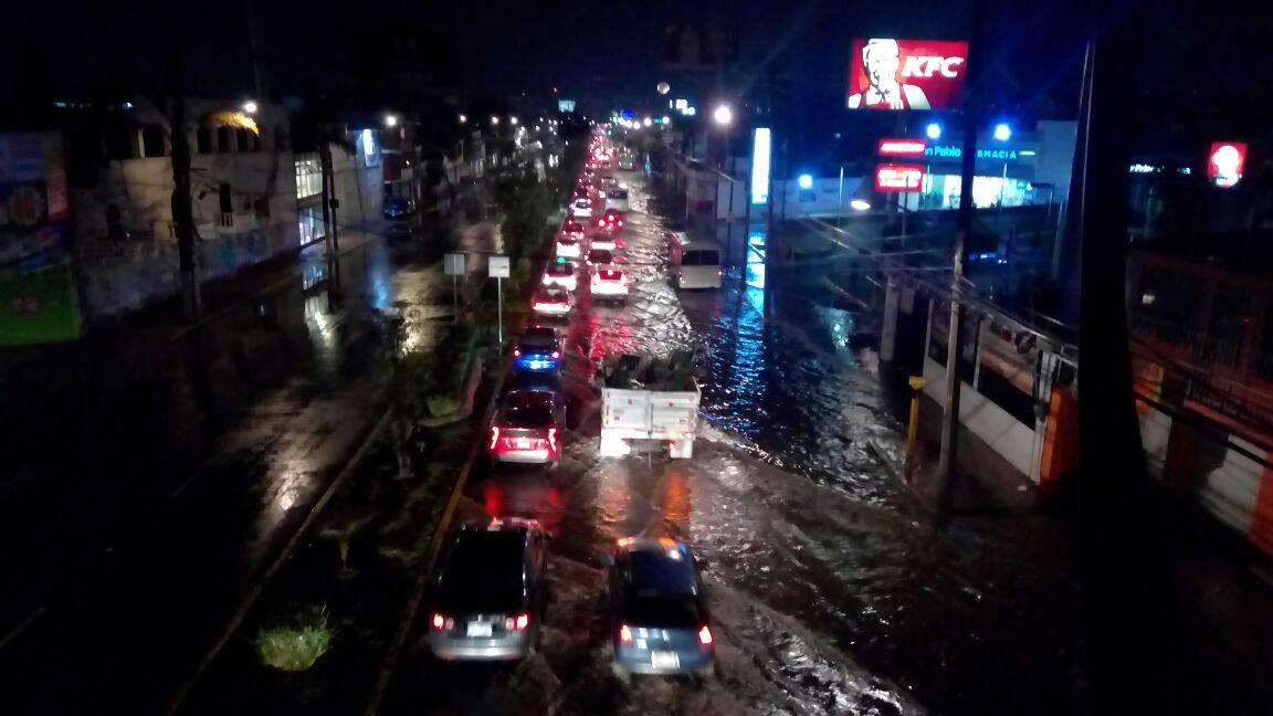 Comunicado de la delegación Xochimilco derivado a la lluvia del día 04 de abril