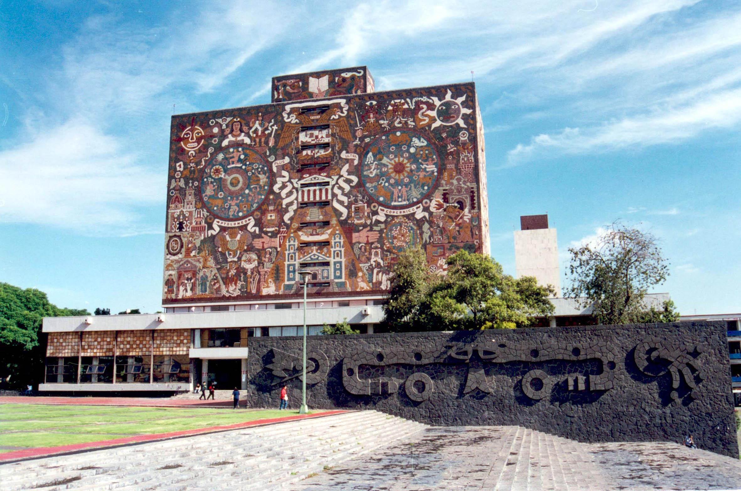 LA BIBLIOTECA CENTRAL DE LA UNAM SE ERIGE COMO EL EDIFICIO MÁS FOTOGRAFIADO DEL PAÍS