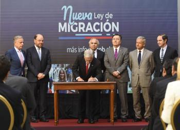 Presidente Piñera presentó reforma para garantizar una migración segura, ordenada y regular