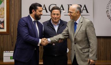 Designan a Jorge Luis Zertuche Rodríguez como subsecretario de Agricultura de la SAGARPA