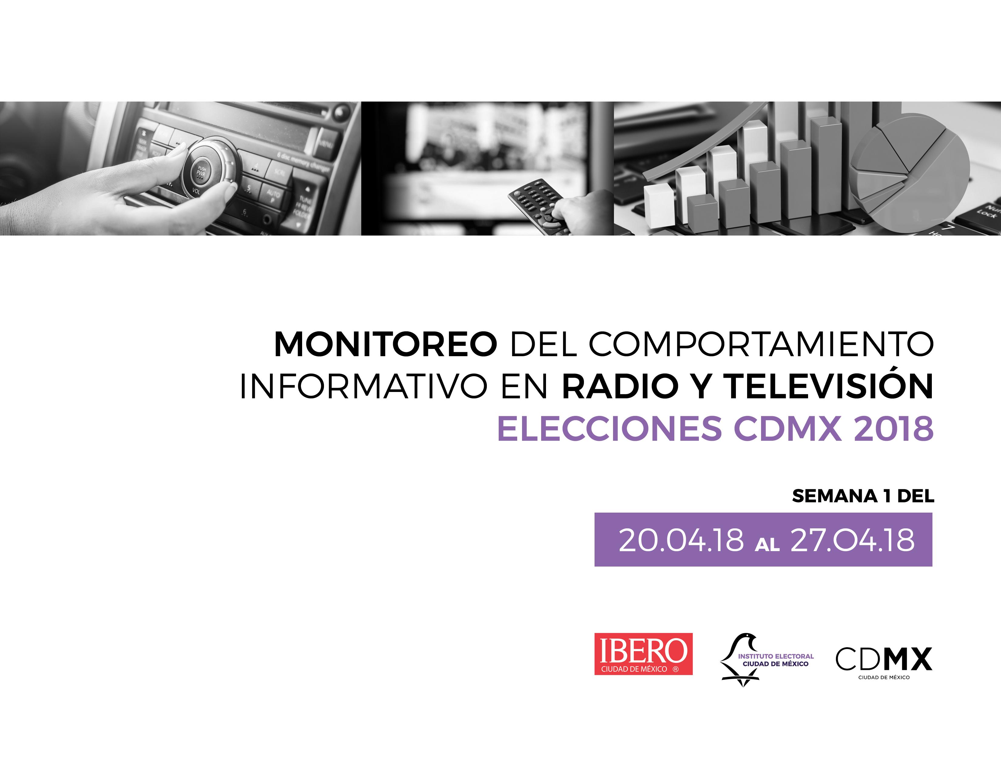 Realiza la Ibero monitoreo de medios para Proceso Electoral Local 2018