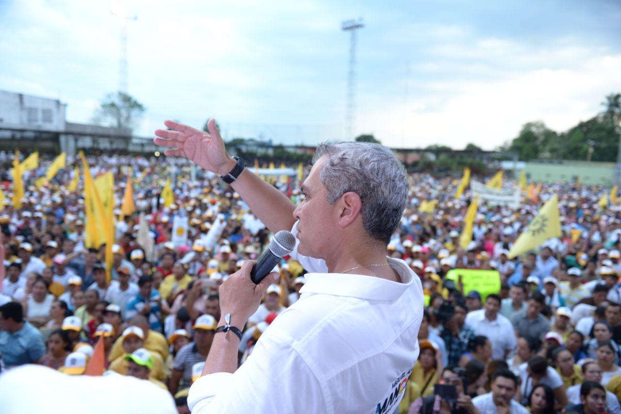Miguel Ángel Mancera visita Tabasco durante su gira como Coordinador del Gobierno de Coalición