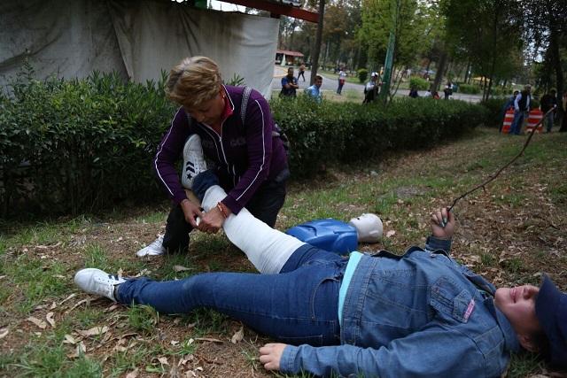 DELEGACIÓN TLÁHUAC INICIA SU BRIGADA DE PROTECCIÓN CIVIL