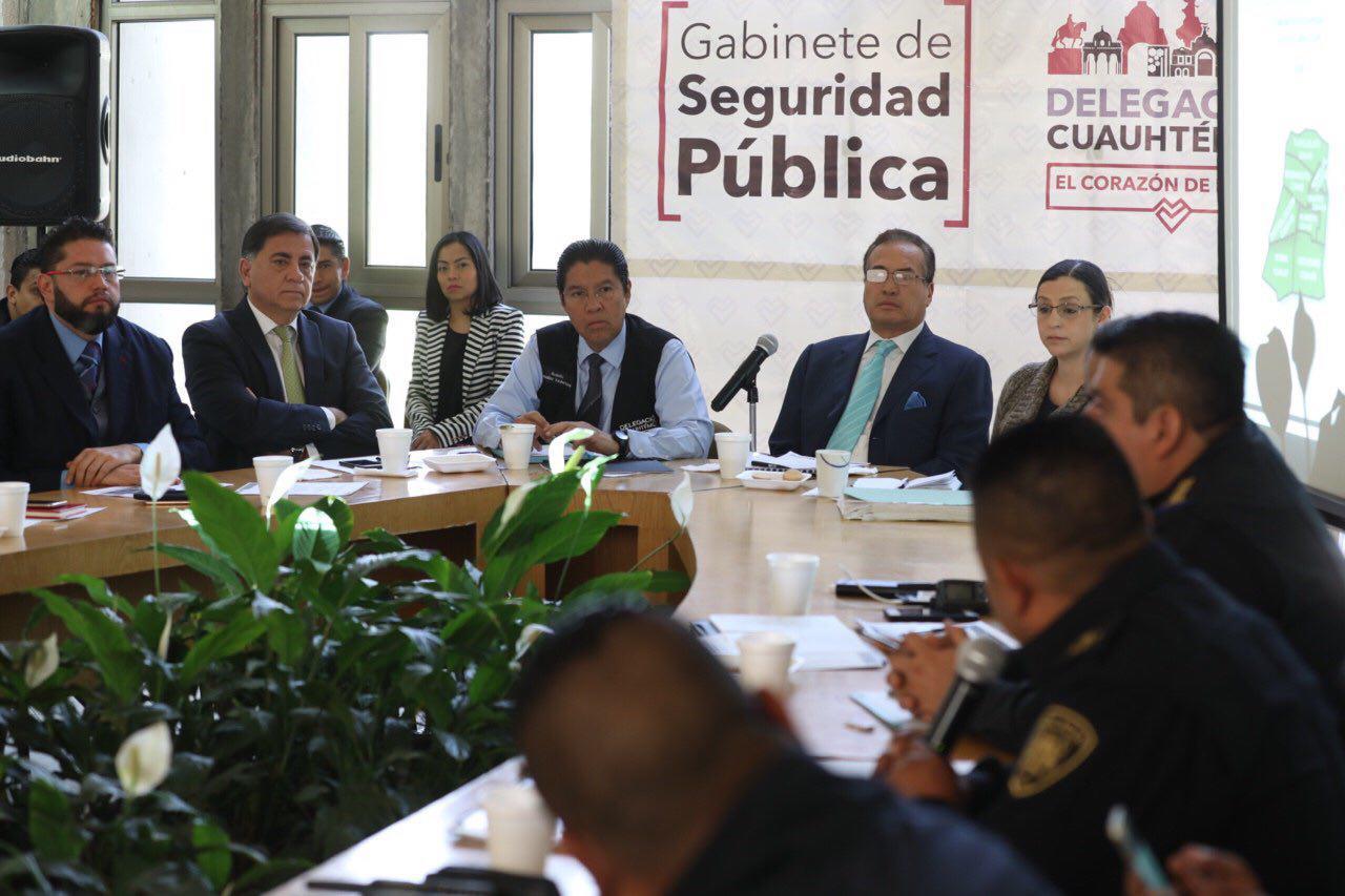 REGISTRA CUAUHTÉMOC DISMINUCIÓN DEL DELITO DE 18.5% RESPECTO A 2017