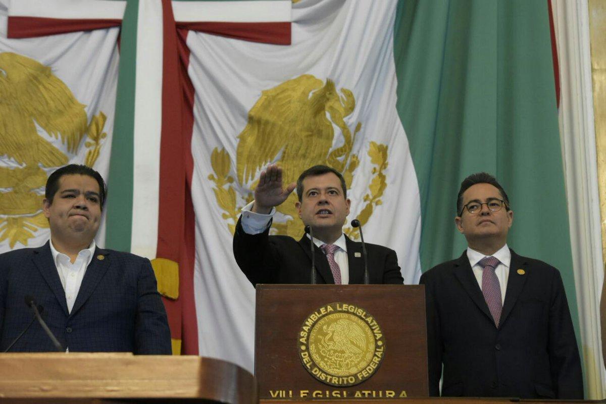 Asume José Ramón Amieva Gálvez Jefatura de Gobierno de la CDMX