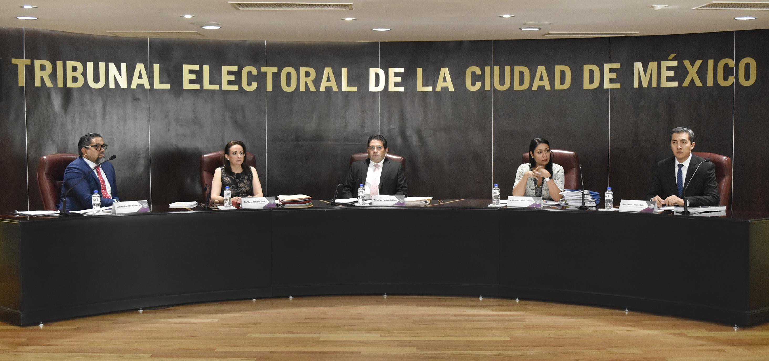 Confirma TECDMX acuerdo del IECM donde se determinó distribución de gastos de campaña a las candidaturas a la Jefatura de Gobierno