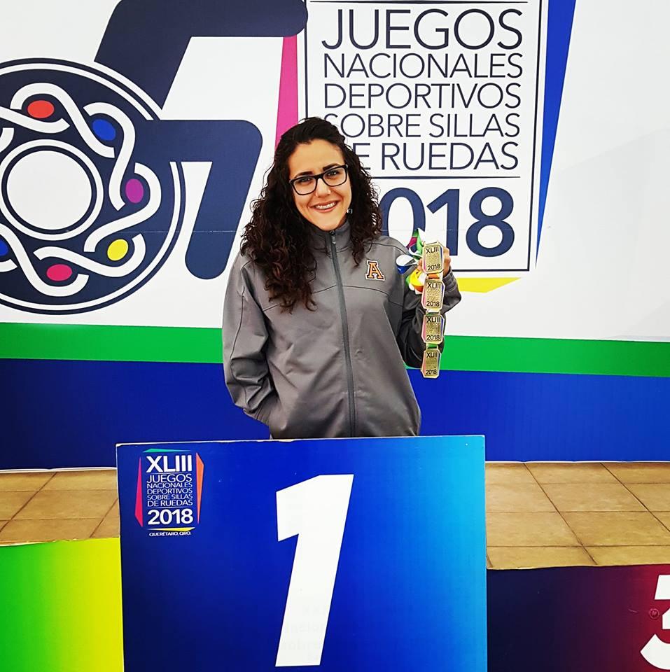 Compiten ocho seleccionados en Serie Mundial de Para-Natación Indianápolis 2018