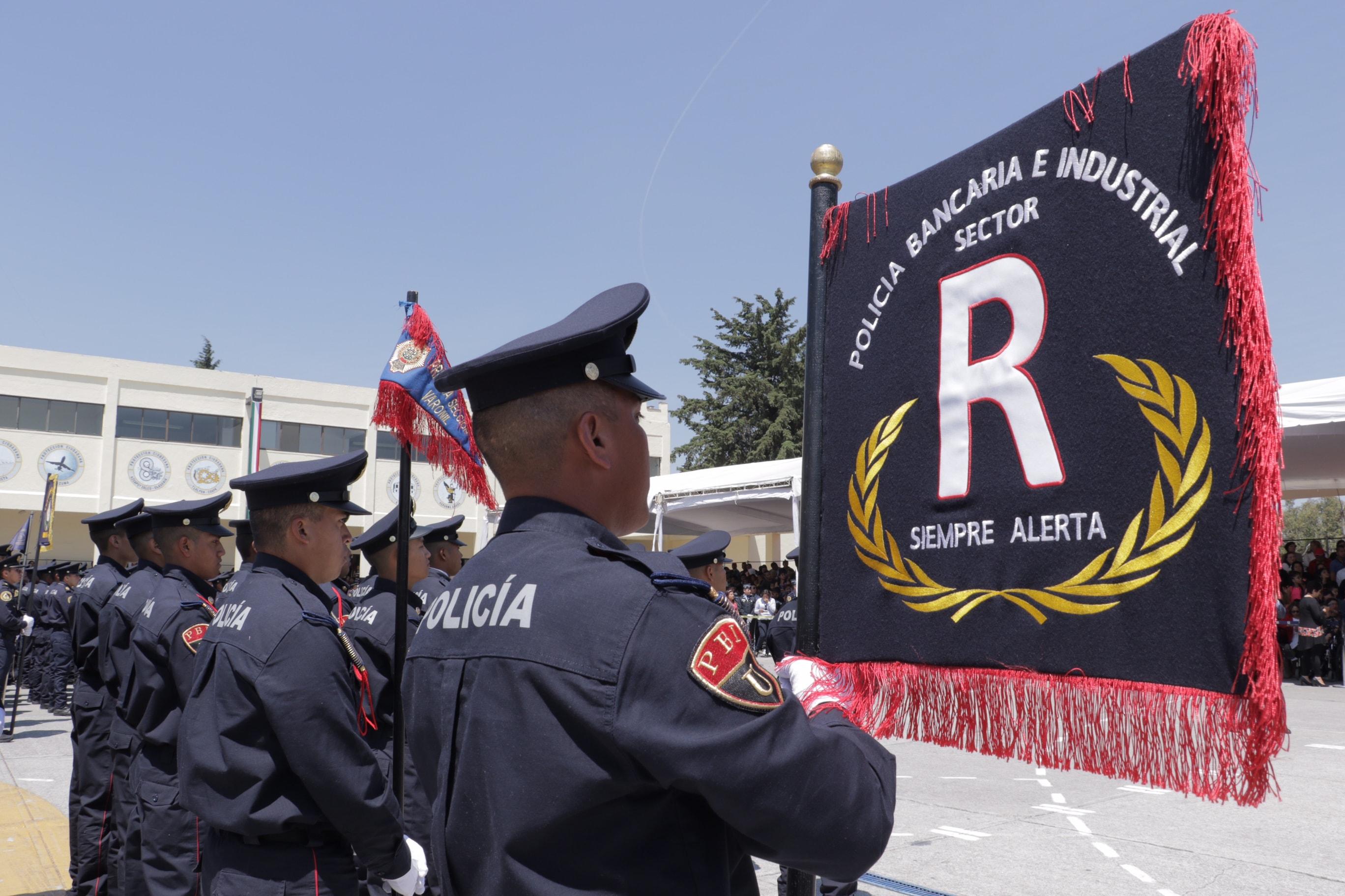 Incrementa GCDMX fuerza policial con 1,283 elementos