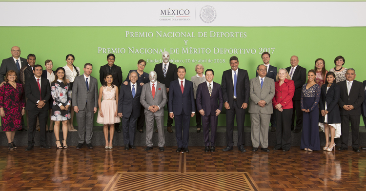 Premio Nacional de Deportes y el Premio Nacional de Mérito Deportivo 2017