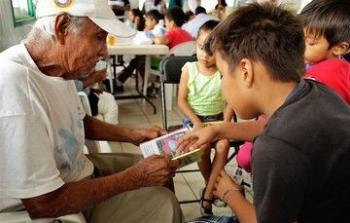 En el Día del Libro, se promueve la lectura en los Comedores Comunitarios y Estancias Infantiles