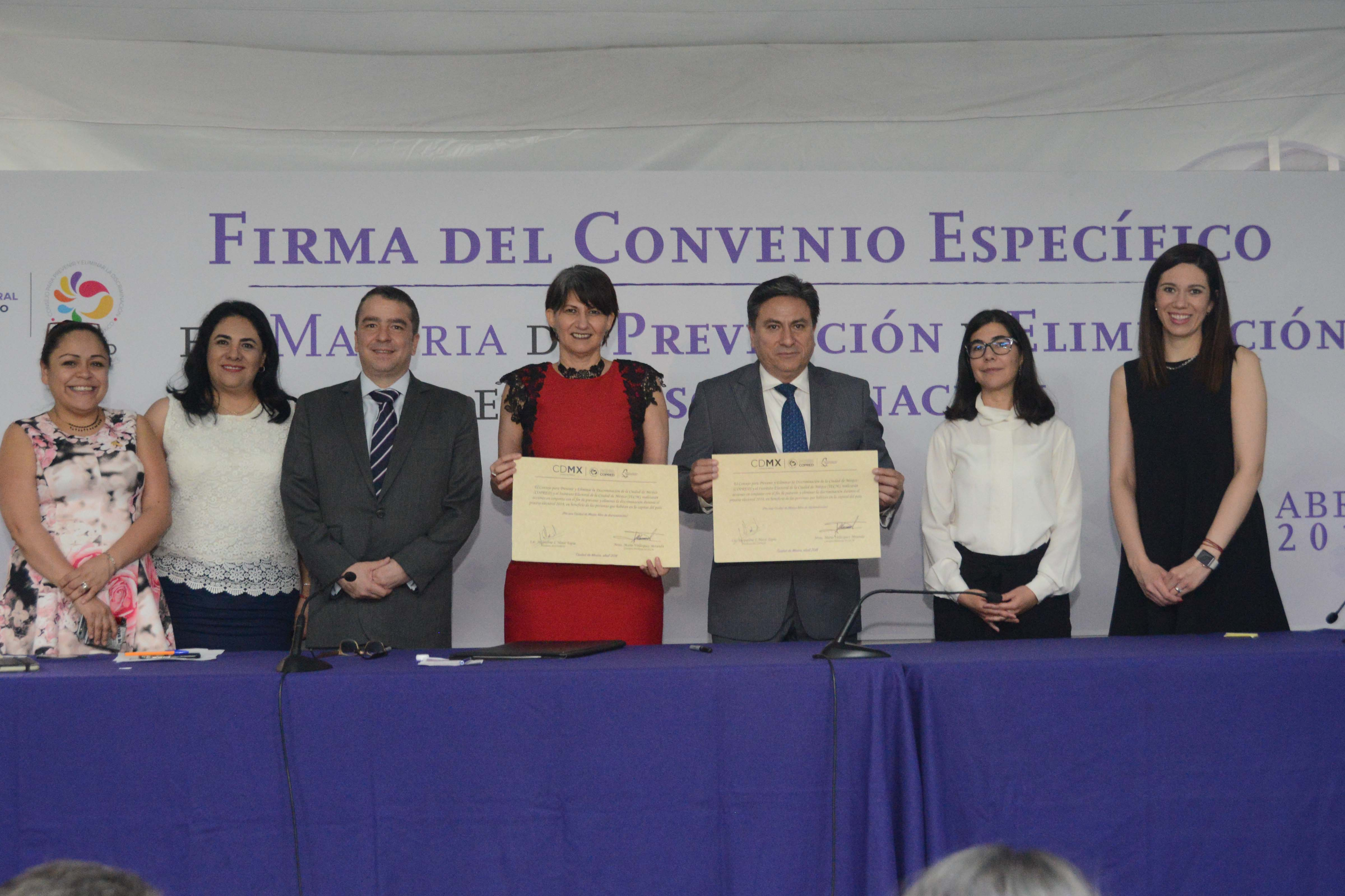 IECM y COPRED combatirán conductas discriminatorias en comicios locales
