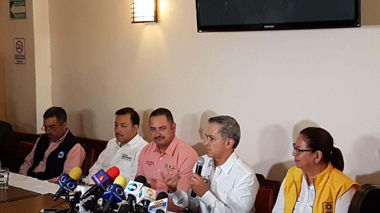 Miguel Ángel Mancera visita CIudad Juárez como parte de su agenda para la promoción del Proyecto de Gobierno de Coalición del Frente