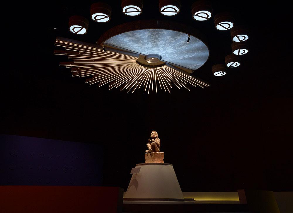 Xochipilli, el Señor de las Flores reina en el Museo Nacional de Antropología