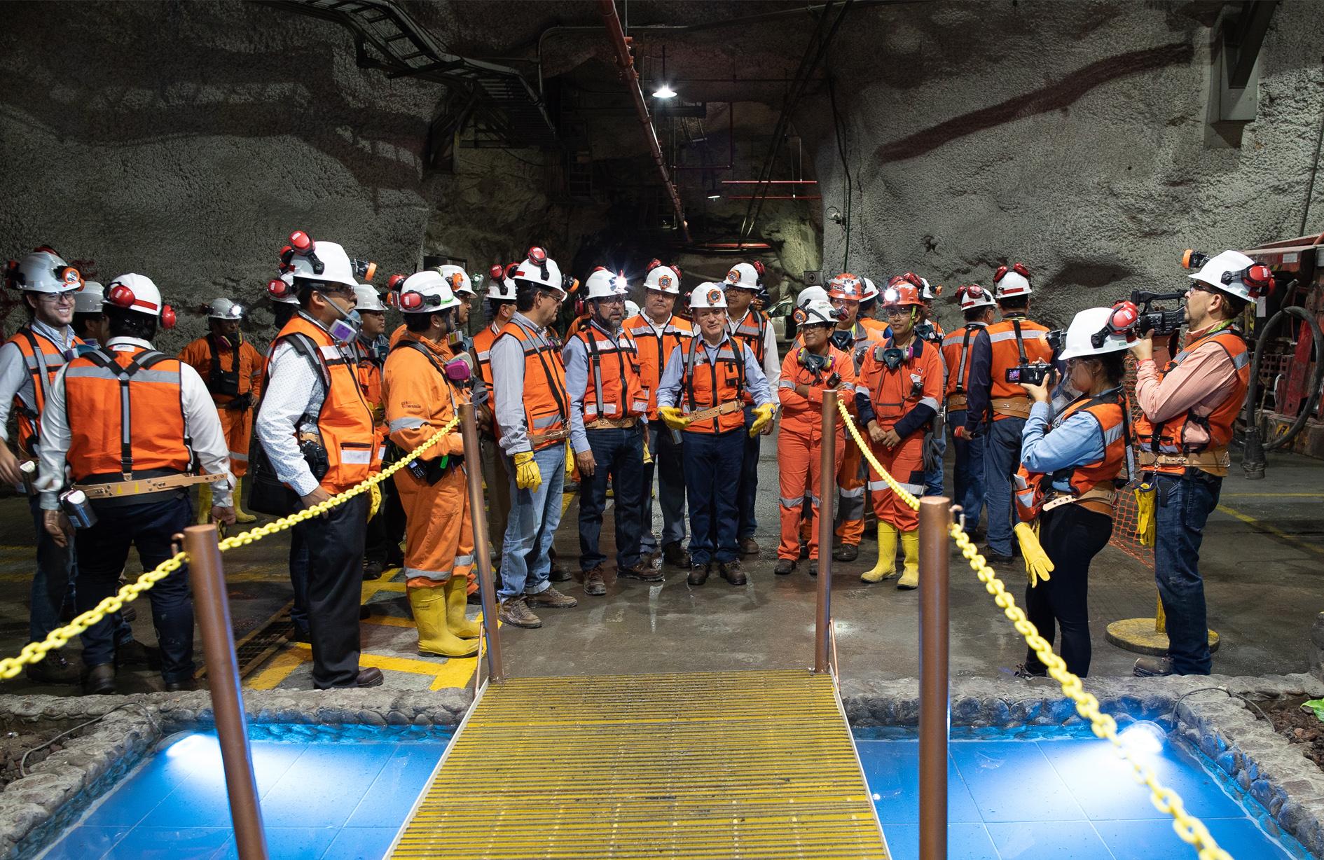 Trabaja STPS con la industria minera para erradicar accidentes