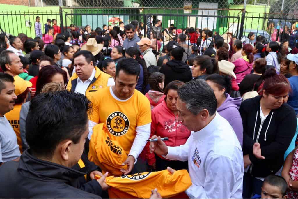 Manuel Negrete inicia campaña en Coyoacán