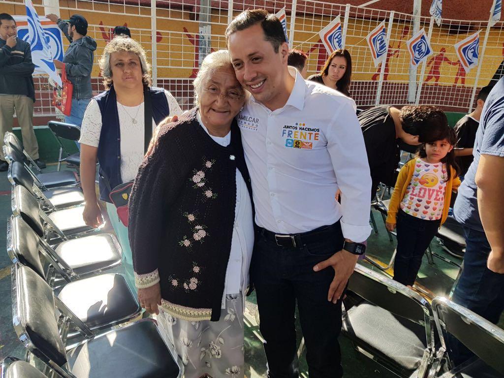 AMILCAR GANADO, CANDIDATO POR EL FRENTE A LA ALCALDÍA  POR ÁLVARO OBREGÓN PROPONE DETONAR LA ECONOMÍA  DE LA DEMARCACIÓN