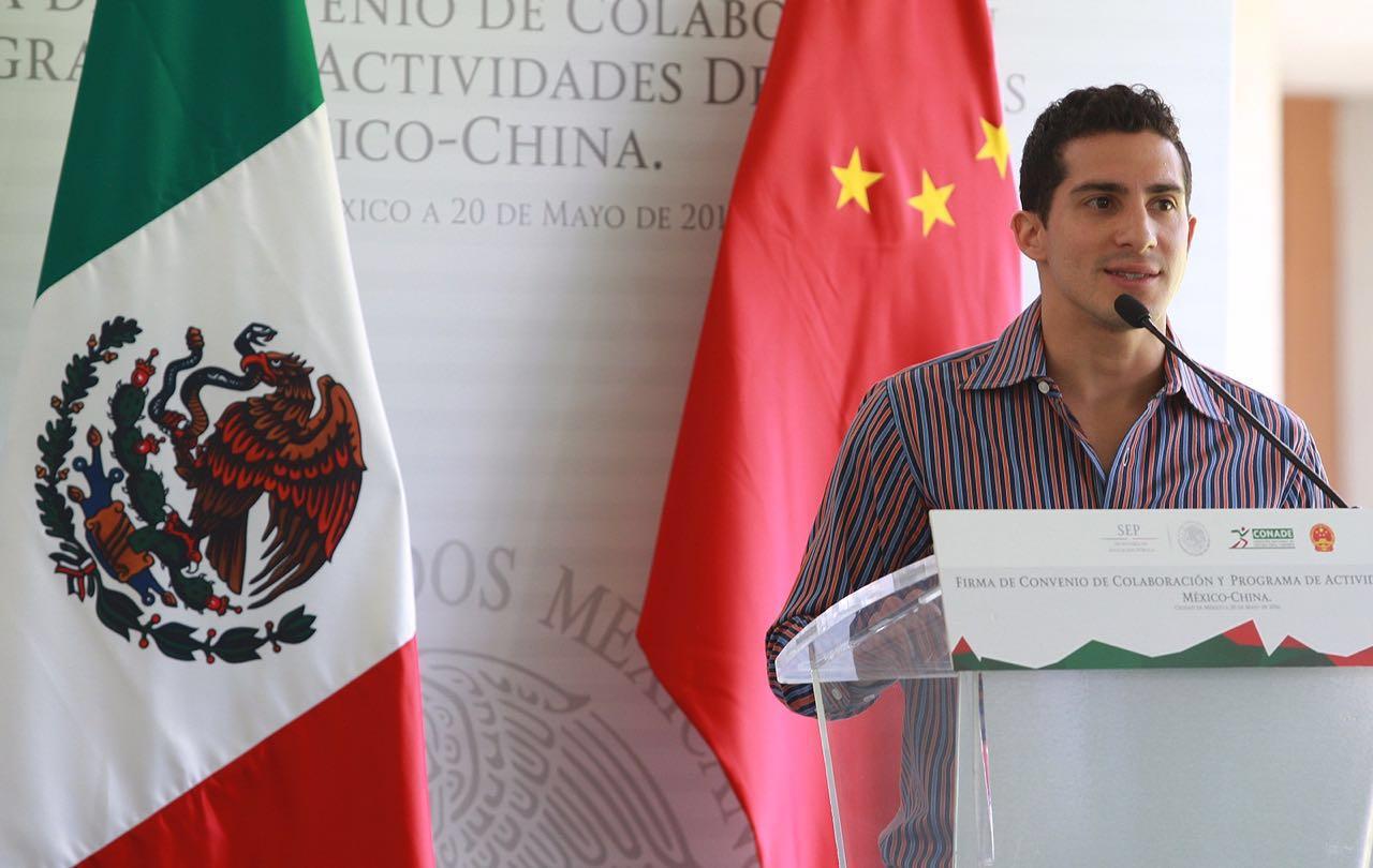 México y China consolidan sus relaciones en materia deportiva