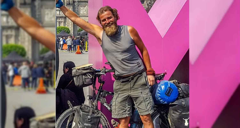 Desaparece ciclista alemán en México