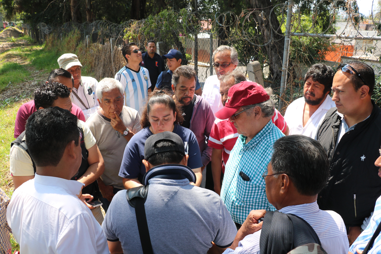 VECINOS DE COLONIAS COLINDANTES CON EL RIO SAN BUENAVENTURA IMPLEMENTAN ACCIONES PARA MITIGAR RIESGOS
