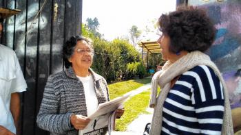 PATRICIA ACEVES HABLA CON JÓVENES DEL CETIS No. 154 EN EJIDOS DE SAN PEDRO MÁRTIR