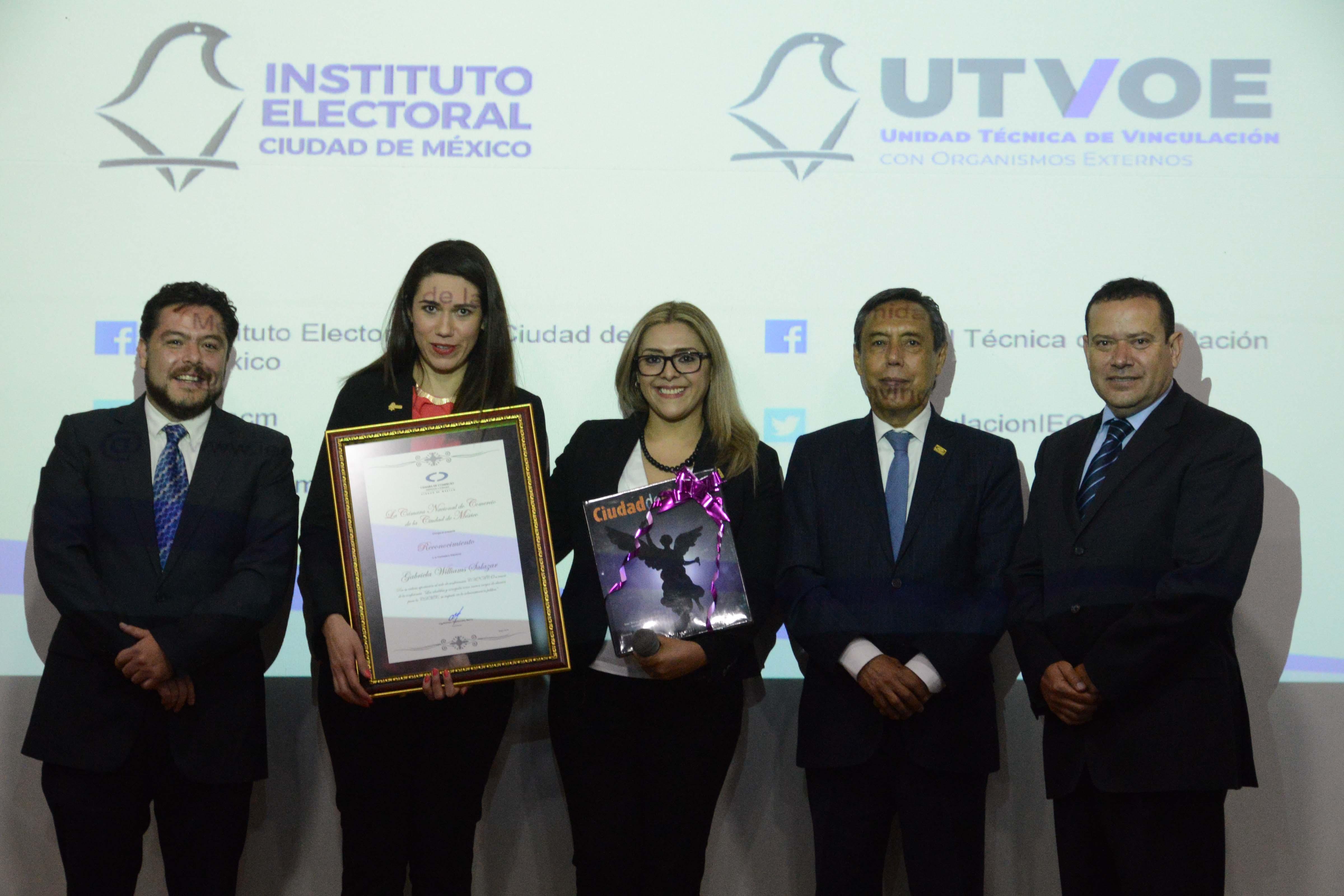 La Constitución de la CDMX permitirá la evaluación de alcaldías y Congreso local: Gabriela Williams Salazar