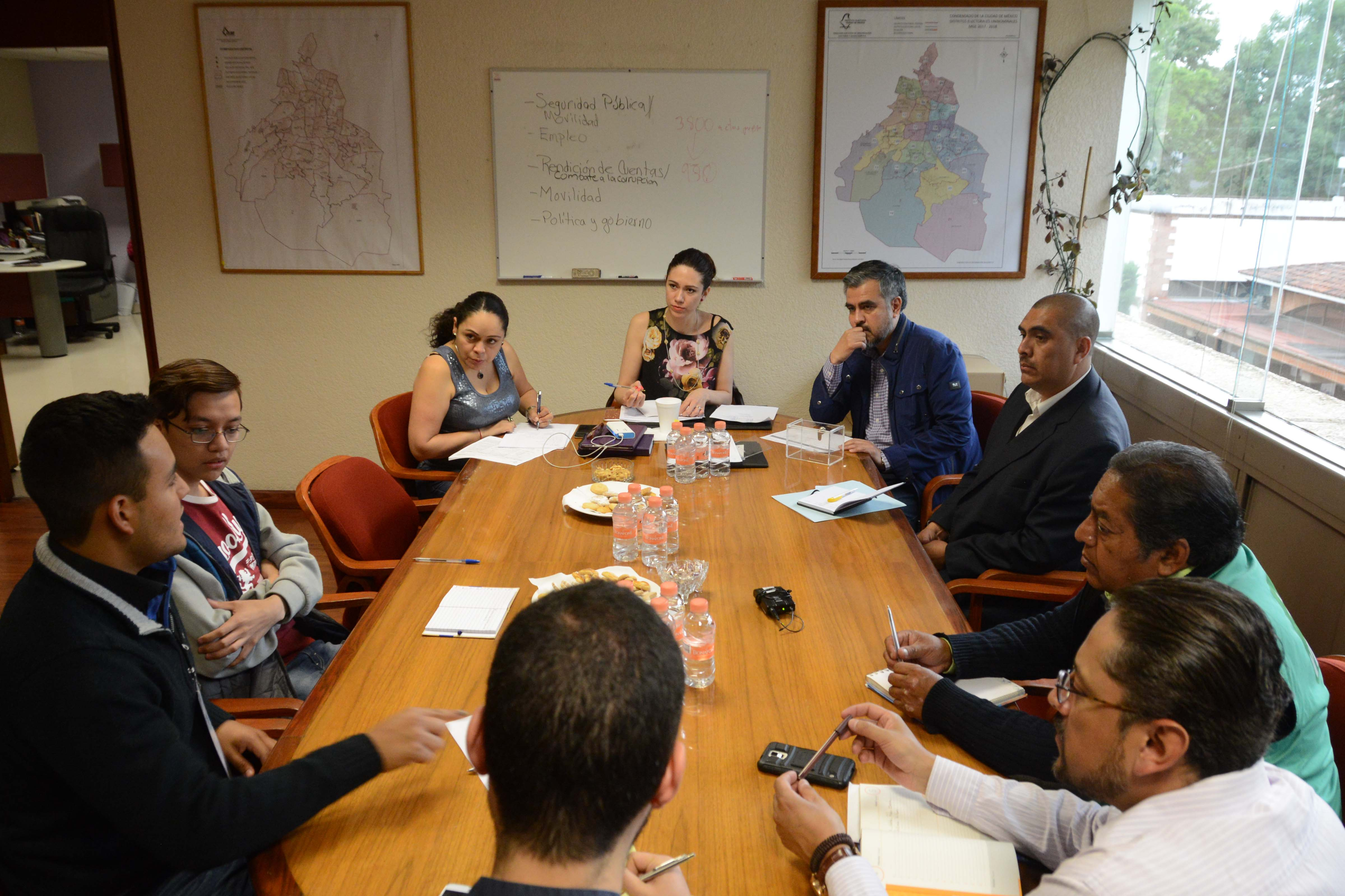 Definen temas para debates entre candidaturas a Diputaciones Locales por Distritos 1 y 33