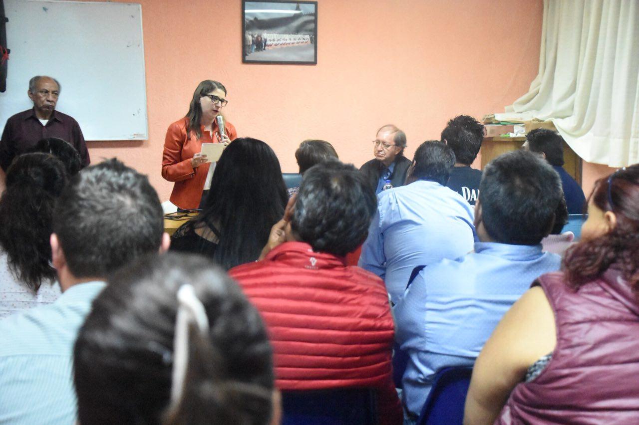NUESTROS MERCADOS PÚBLICOS SERÁN UNA EJEMPLO DEL DESARROLLO ECONÓMICO Y SOCIAL EN MIGUEL HIDALGO: MAGUI FISHER