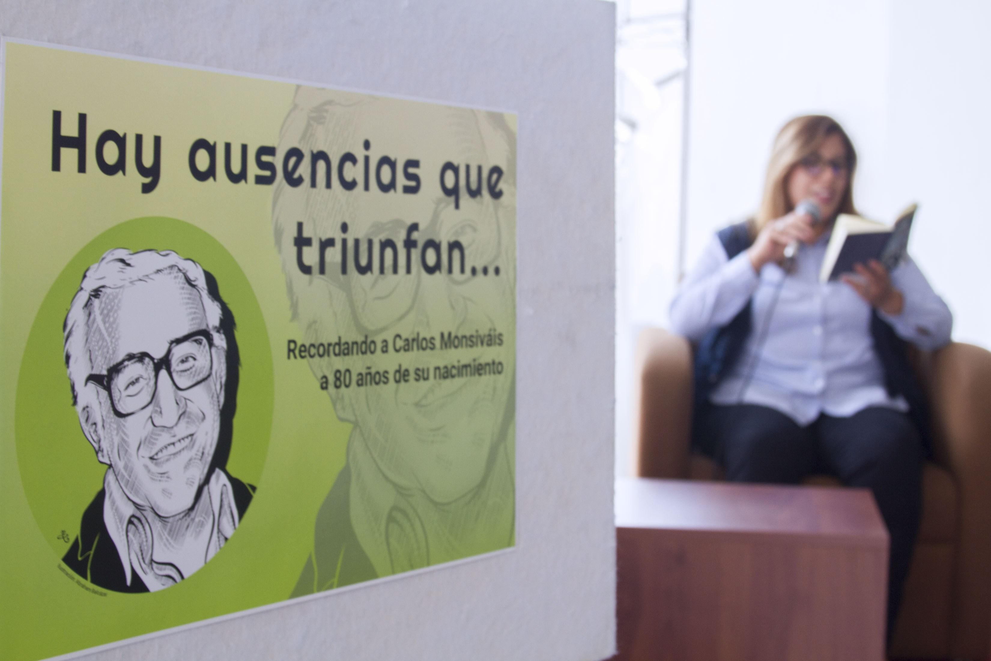 Con maratón de lectura y conferencias rinden homenaje a Carlos Monsiváis en el Museo del Estanquillo