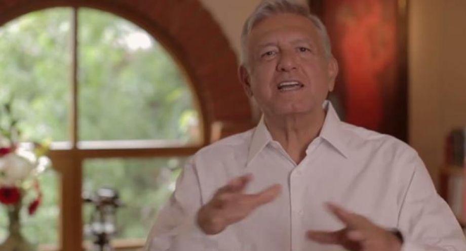 Ordena INE bajar spot de AMLO en Yucatán