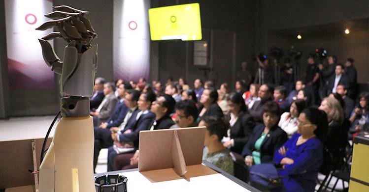 Imprimen prótesis biónicas en 3d con tecnología politécnica