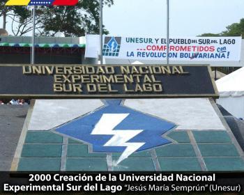 Hace 18 años nació la Universidad Nacional Experimental Sur del lago en Venezuela