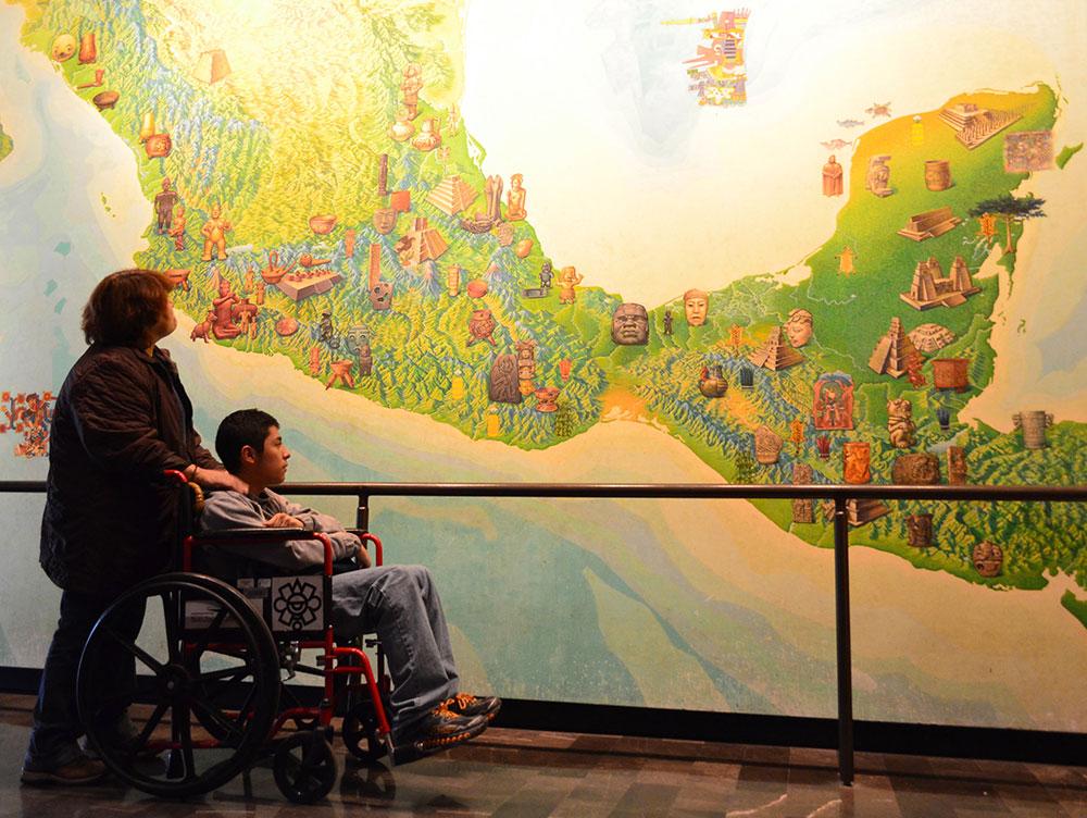 Inicia el Primer Coloquio Internacional sobre Museos Accesibles. Cultura y Discapacidad