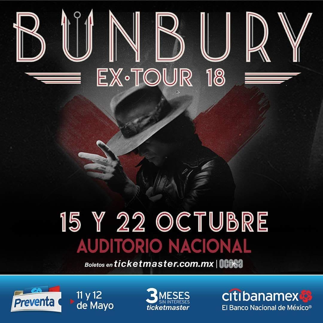 Enrique Bunbury regresa a la CDMX
