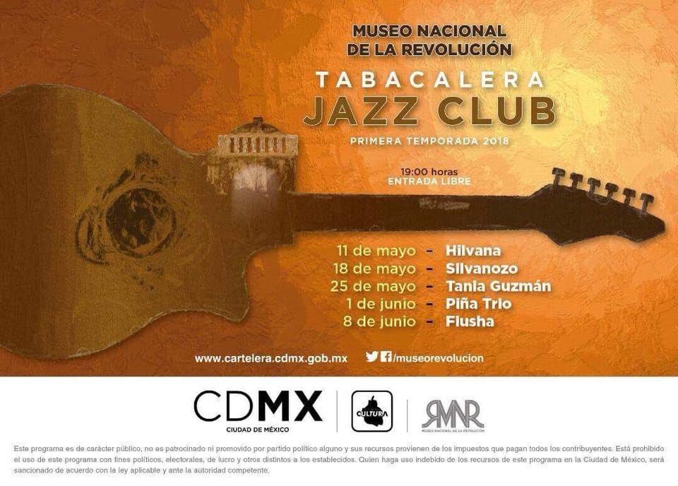 Regresa el Tabacalera Jazz Club al Museo Nacional de la Revolución con jazz, funk, groove y soul