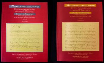 Presentan volúmenes sobre historia política y parlamentaria de México